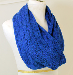 Photo of BOLD Basketweave Infinity Scarf