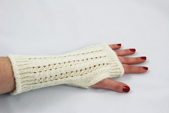 Photo of Wrist Warmers - Pointelle