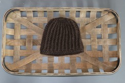 100% Baby Yak Down Crochet Hat