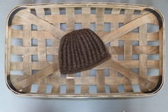 Photo of 100% Baby Yak Down Crochet Child's Hat