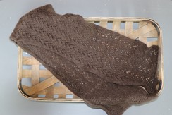 Photo of 100% Baby Yak Down Knit Scarf, Style 3