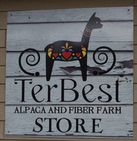 TerBest Alpaca and Fiber Farm - Logo