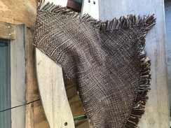 Photo of Hand woven alpaca shawl