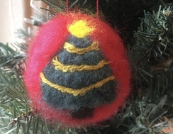 Photo of Needle Felted Ornament