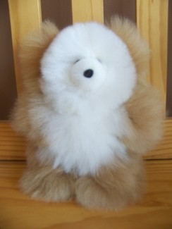 "Photo of 9"" stuffed teddy bear"