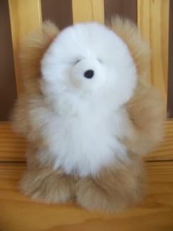 """9"""" stuffed teddy bear"""