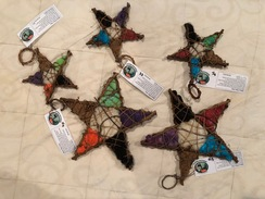 Photo of Alpaca Fiber Stars - Small