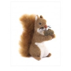 Photo of Felted Squirrel