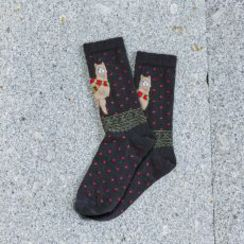 Holiday Alpaca Socks