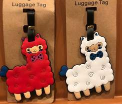 Photo of Alpaca Luggage Tags