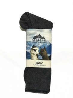 Dress Socks by Alaskan Alpacas