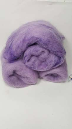 Alpaca Roving and Carded Batts