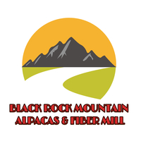 Black Rock Mountain Alpacas & Fiber Mill - Logo