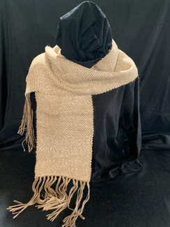 Photo of Woven Suri Alpaca Scarf 2 (Floating)