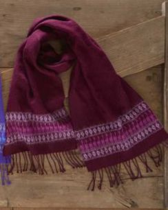 Photo of Alpaca Motif Scarves