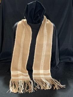 Photo of Woven Suri Alpaca Scarf 5 (Combo-Stripe)