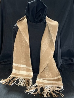 Photo of Woven Suri Alpaca Scarf 7 (Heavy Plaid)