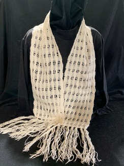 Photo of Woven Suri Alpaca Scarf  13 (Fancy)