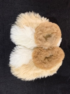 Photo of PREMIUM Baby Suri Fur Fuzzy Slippers 2