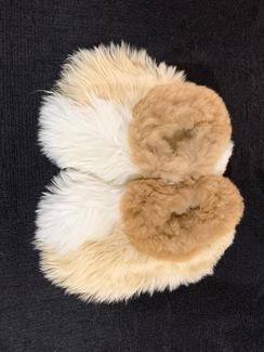 PREMIUM Baby Suri Fur Fuzzy Slippers 2