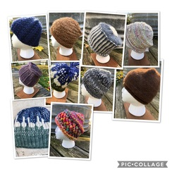 Photo of Alpaca hats - hand knit