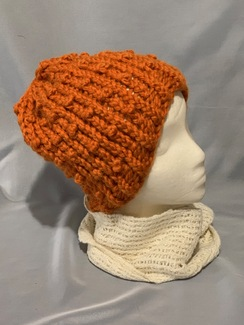 Photo of Knitted Alpaca Popcorn Hat 4