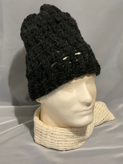 Knitted Alpaca Hat 2