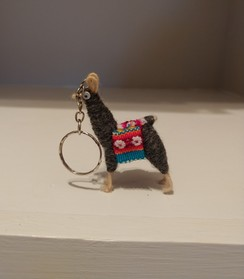Photo of Alpaca Keychain