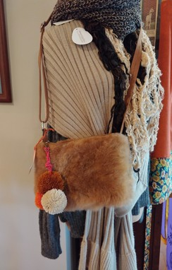 Photo of Fuzzy Alpaca Handbag