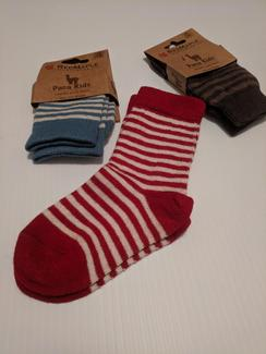 Two Pair of Fun Alpaca Socks for Kids