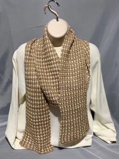 Knitted Alpaca Scarf (Suri) 1