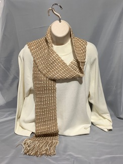 Photo of Knitted Alpaca Scarf (Suri) 2