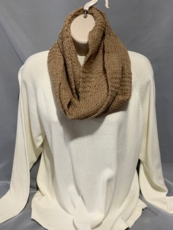Photo of Knitted Alpaca Scarf (Suri Infinity) 8