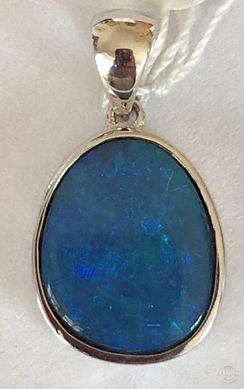 Opal Doublet Pendant 18779