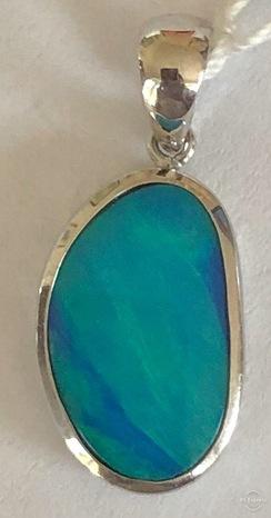 Opal Doublet Pendant 18787