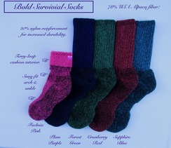 SOCKS: 78% Alpaca SURVIVAL: BOLD!!!