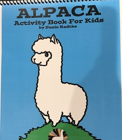 Alpaca Activity Book for Kids