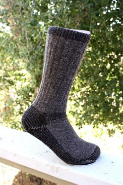 Outdoorsman Alpaca Sock