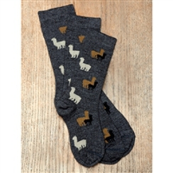 Photo of Alpaca Herd Socks for Kids