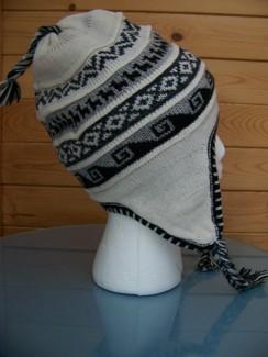 Fleece-lined chullo