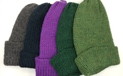 Reversible Beanie Style Hat
