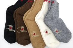 Norlander Heavyweight Short Alpaca Socks