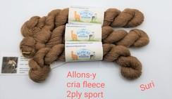 Baby Suri Alpaca Yarn Allons-y