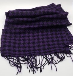 Photo of Houndstooth Baby Alpaca Scarf