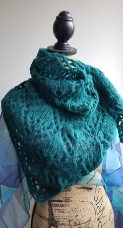 Photo of Brushed Suri Alpaca Shawl