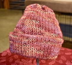 Photo of Alpaca Hat - Red/Pink/Orange