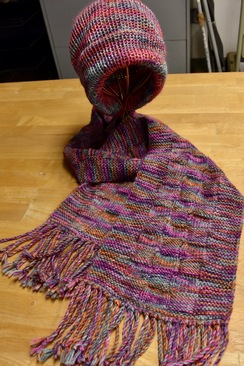 Photo of Alpaca Hat & Scarf Set