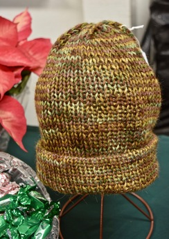 Photo of Alpaca Hat - Golds and Browns