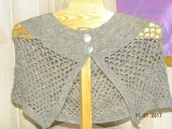 Photo of Crocheted Shawl
