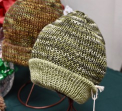 Photo of Alpaca Hat - Green variated
